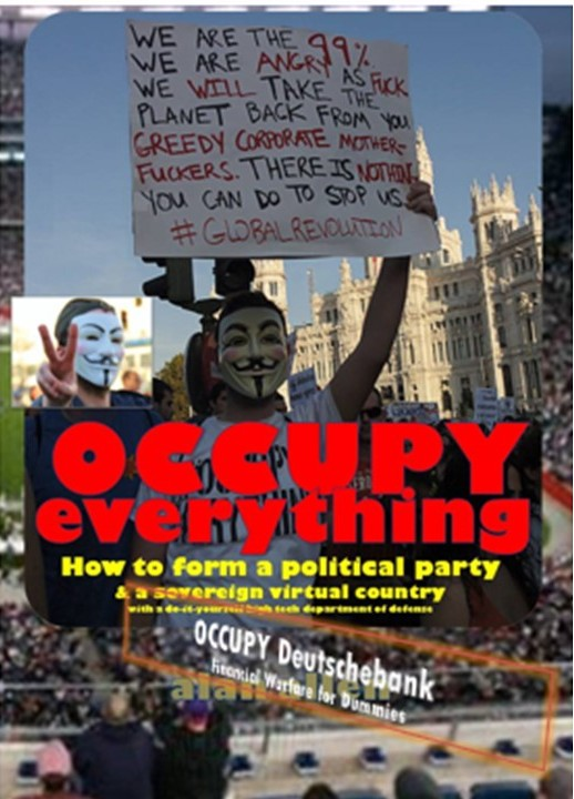 Close Up of Occupy Poster