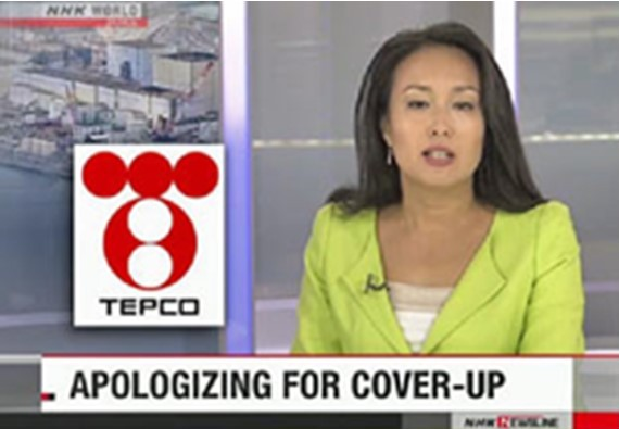 TEPCO covers up nuclear disaster telling Japanese children to smile & fallout won't affect them. They are also covering up that the 2020 Tokyo Olympic sites are covered in plutonium.