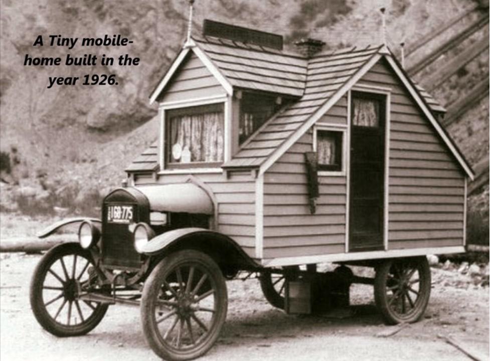 Tiny house, 1926.