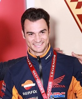 Honda star Dani Pedrosa said he was considering leaving all his clothes in Japan